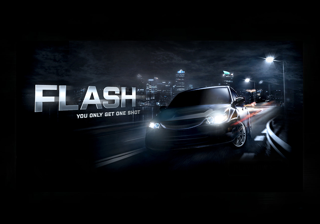 Flash Driving Game
